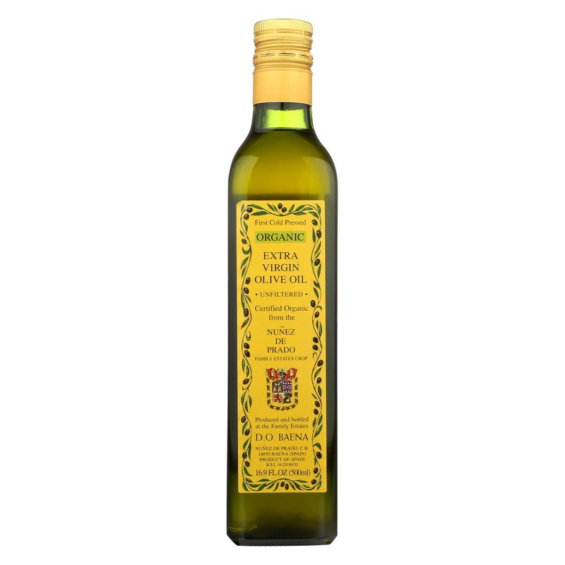 Nunez De Prado Olive Oil - Extra Virgin - Case Of 12 - 500 Ml