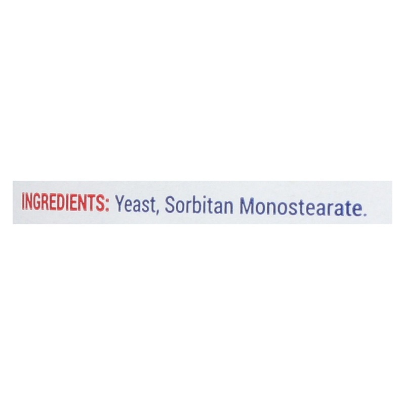 Red Star Nutritional Yeast Yeast - Active - Dry - Case Of 12 - 4 Oz