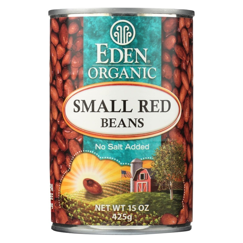 Eden Foods Small Red Beans Organic - Case Of 12 - 15 Oz.