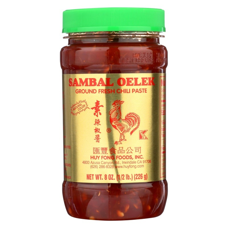 Huy Fong Fresh Chili Paste - Sambal - 8 Oz.
