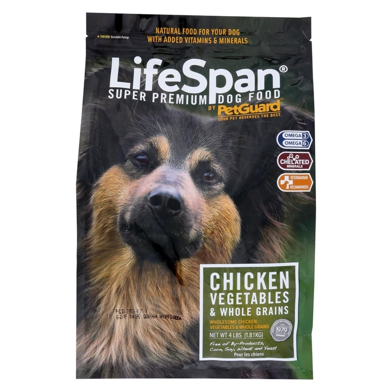Petguard Dog Foods - Lifespan Chicken - 4