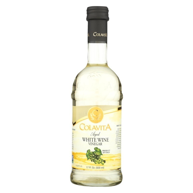 Colavita Aged White Wine Vinegar - 17 Fl Oz.