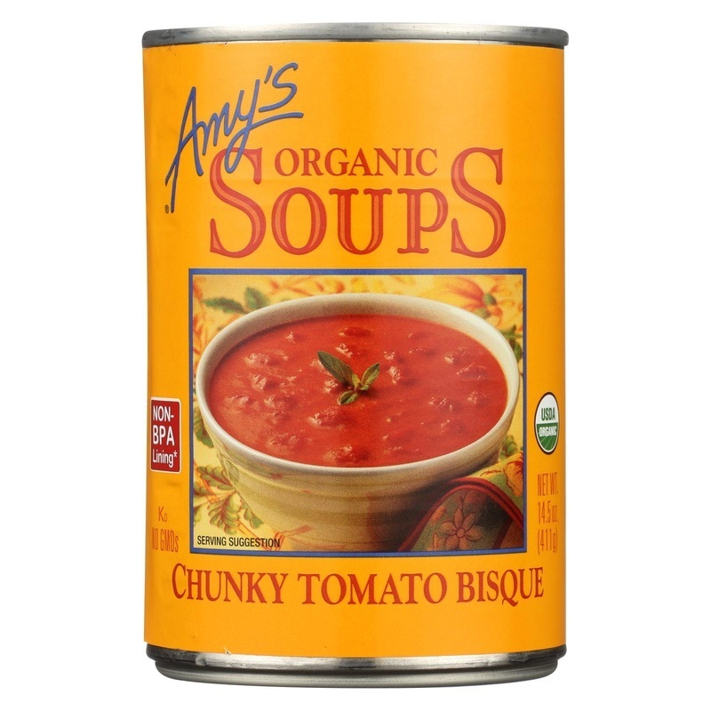 Amy's Organic Chunky Tomato Bisque - Case Of 12 - 14.5 Oz