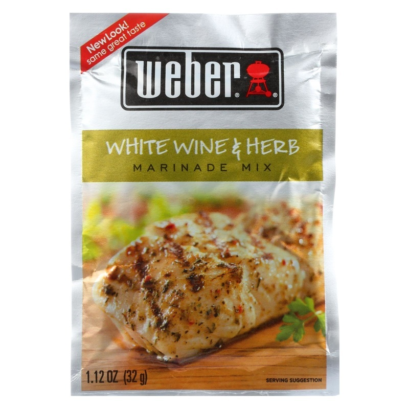 Weber Grill Creations Marinade - White Wine & Herb - Case Of 12 - 1.12 Oz