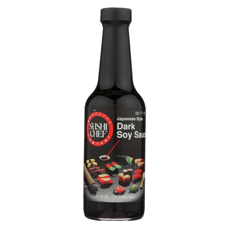Sushi Chef Sauce - Soy - Dark - Case Of 6 - 10 Fl Oz