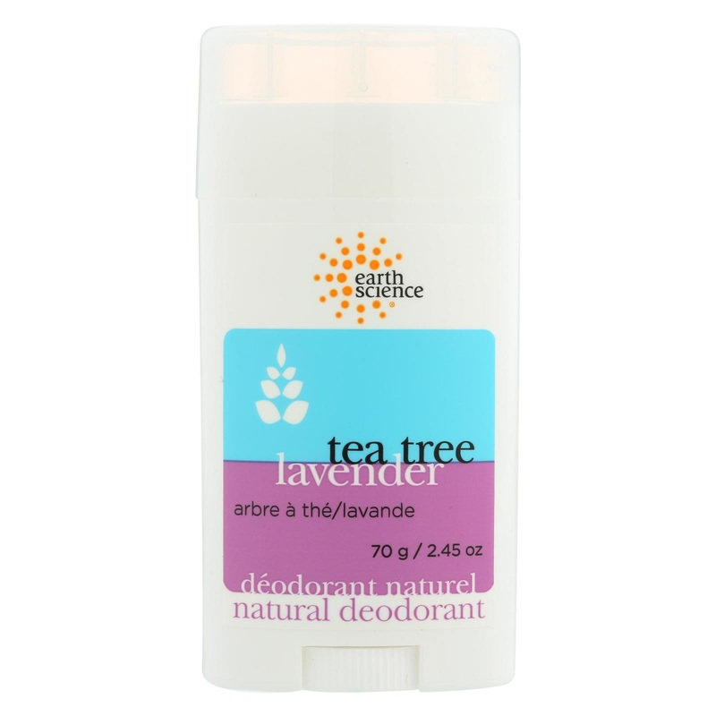 Earth Science Natural Tea Tree Deodorant Lavender - 2.5 oz
