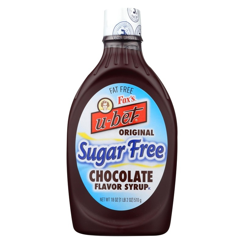Fox's U-bet Fox's U - Bet Chocolate Syrup - Chocolate - 18 Oz.