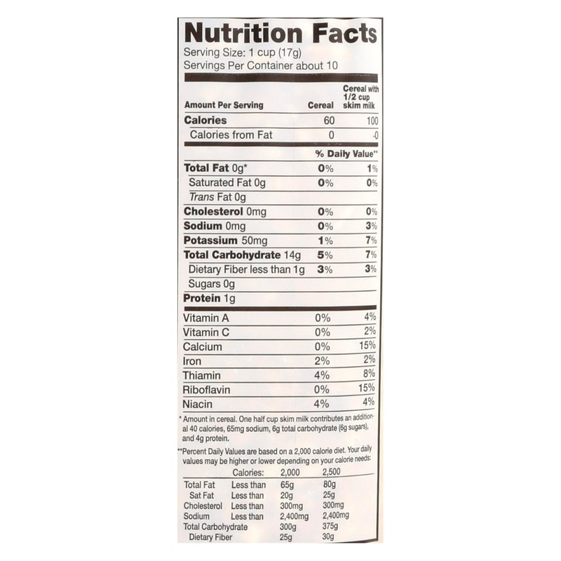 Arrowhead Mills All Natural Puffed Rice Cereal - Case Of 12 - 6 Oz.