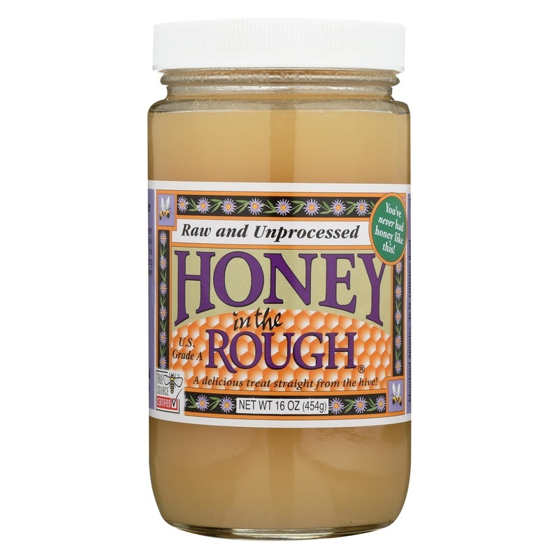 Moorland Honey In The Rough - Case Of 12 - 16 Oz.