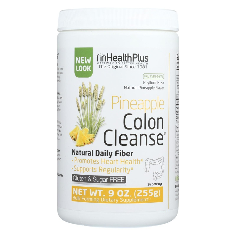 Health Plus Colon Cleanse - Pineapple Stevia - 9 oz