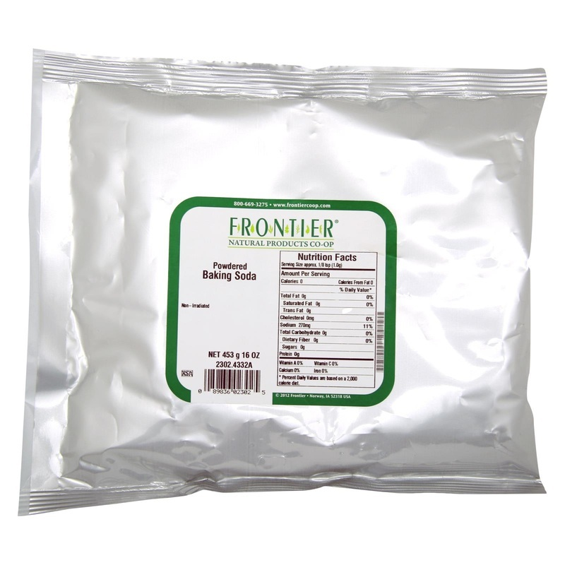Frontier Herb Baking Soda Powder - Bulk - 1 Lb