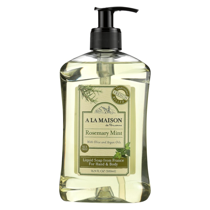 A La Maison French Liquid Soap Rosemary Mint - 16.9 fl oz