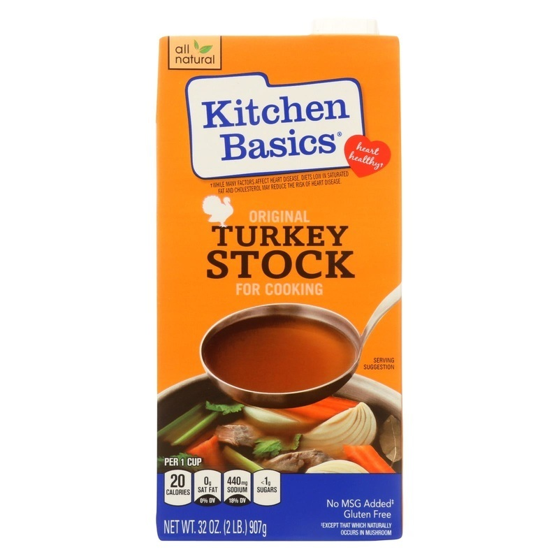 Kitchen Basics,inc Kitchen Basics Turkey Stock - 32 Fl Oz.