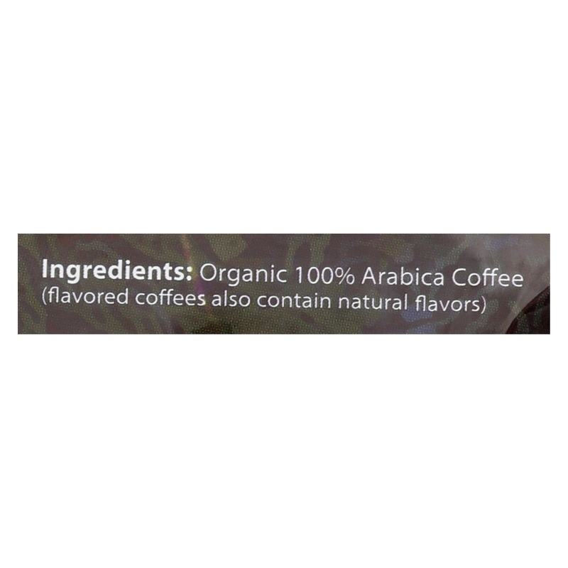 Organic Coffee Coffee - Organic - Ground - French Roast - 12 Oz - Case Of 6