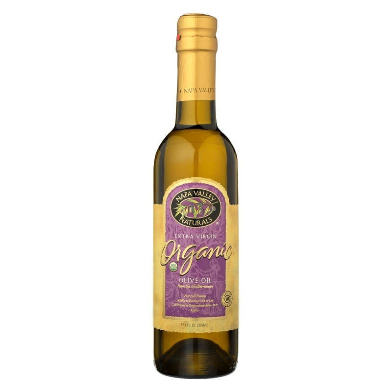 Napa Valley Naturals Extra Virgin Olive Oil - Organic - Case Of 12 - 12.7 Oz.