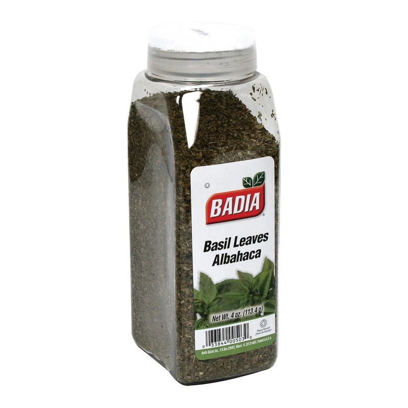 Badia Spices Basil Leaves - 4 Oz.