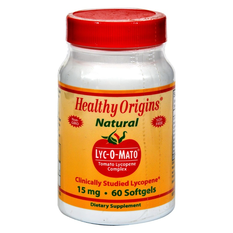 Healthy Origins Lyc-O-Mato - 15 mg - 60 Softgels