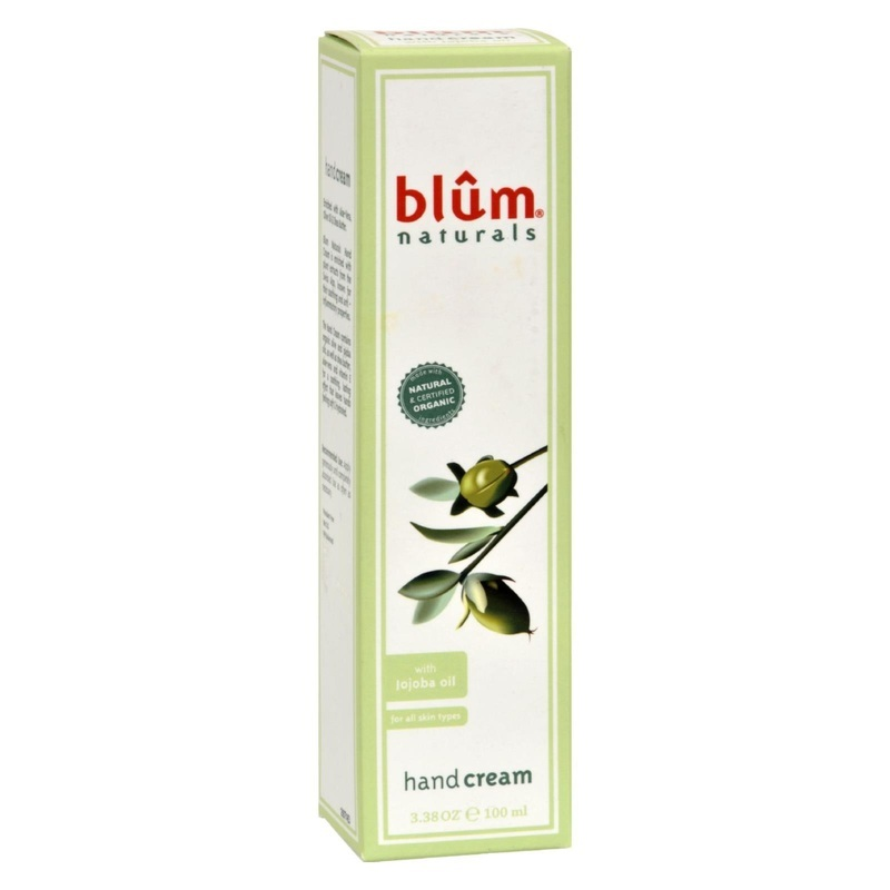 Blum Naturals Hand Cream - with Jojoba Oil - 3.38 oz