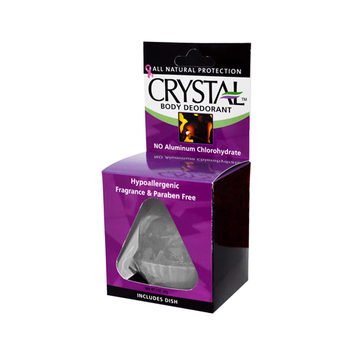 Crystal Rock Body Deodorant - 3 oz