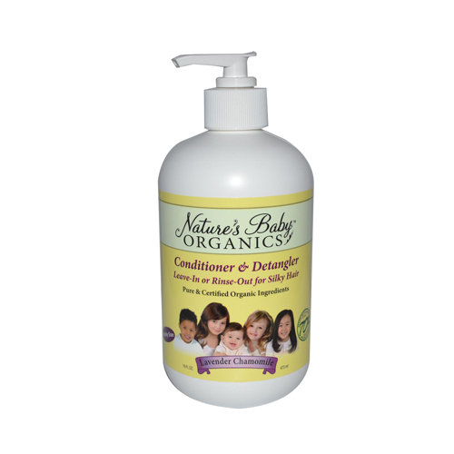 Nature S Baby Organics Conditioner And Detangler Lavender
