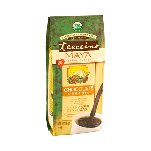 Teeccino Organic Tee Bags - Chocolate Herbal - 10 Bags
