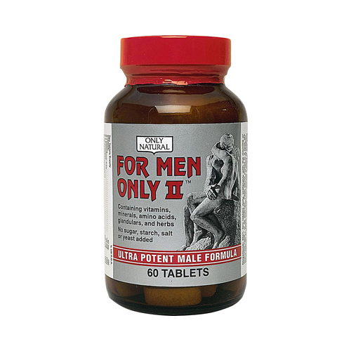 Only Natural For Men Only II - 60 Tablets