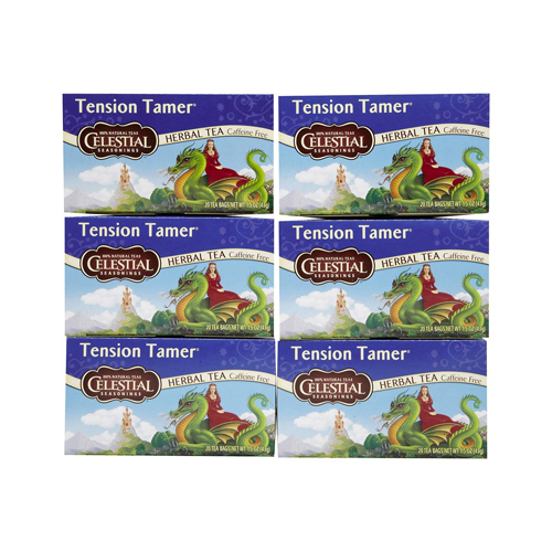 Celestial Seasonings Herbal Tea - Tension Tamer - Caffeine Free - 20 Bags