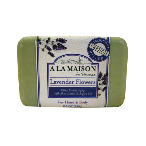 A La Maison Bar Soap Lavender Flowers - 8.8 oz