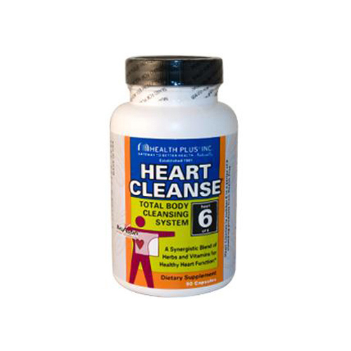Health Plus Heart Cleanse Total Body Cleansing System - 90 Capsules