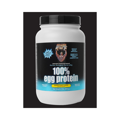 Healthy 'N Fit 100 Percent Egg Protein - Banana - 2 lbs