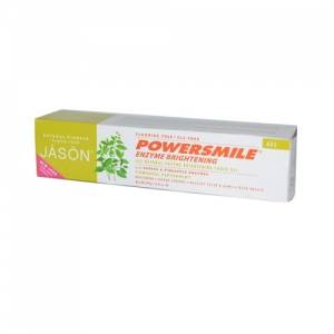 Jason PowerSmile Enzyme Brightening Gel Natural Toothpaste - 4.2 oz