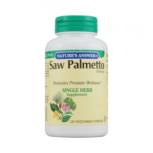 Nature's Answer Saw Palmetto Berry Extract - 120 vcaps
