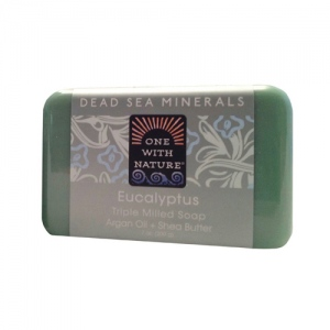 One With Nature Triple Milled Soap Bar - Eucalyptus - 7 oz