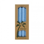 Aloha Bay Palm Tapers Light Blue Candles - Unscented - 4 Pack