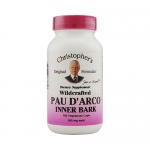 Christopher's Pau D'Arco - 500 mg - 100 Vegetarian Capsules