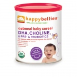 Happy Baby Happy Bellies Cereal - Organic Oatmeal - 7 oz - Case of 6