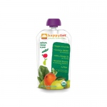 Happy Baby HappyTot Organic Superfoods Spinach Mango and Pear - 4.22 oz - Case of 16
