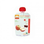 Happy Baby Organic Baby Food Stage 2 Apple and Cherry - 3.5 oz - Case of 16