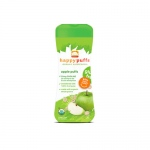 Happy Baby Organic Puffs Apple - 2.1 oz - Case of 6