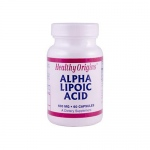 Healthy Origins Alpha Lipoic Acid - 600 mg - 60 Capsules