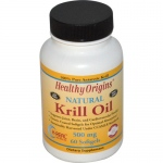 Healthy Origins Krill Oil - 500 mg - 60 Softgels