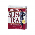 Hobe Labs Ultra Slim Tea Cran-Raspberry - 24 Tea Bags