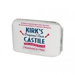 Kirk's Natural Original Coco Castile Soap Fragrance Free - 4 oz