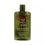 Kiss My Face Bath and Shower Gel Active Athletic Birch and Eucalyptus - 16 fl oz