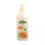 Nature's Gate Body Wash Velvet Moisture Papaya - 18 fl oz