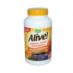 Nature's Way Alive! Multi-Vitamin No Iron Added - 180 Tablets