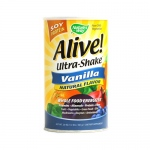 Nature's Way Alive! Soy Protein Ultra-Shake Vanilla - 21 oz