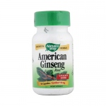 Nature's Way American Ginseng Root - 50 Capsules