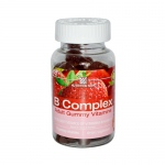 Nutrition Now B Complex Gummy Vitamins Strawberry - 70 Gummies