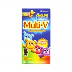 Yum V's Multi-V plus Multi-Mineral Formula Milk Chocolate - 60 Bears